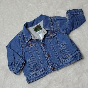 Vintage baby Gap denim jean jacket fall coat 12mo